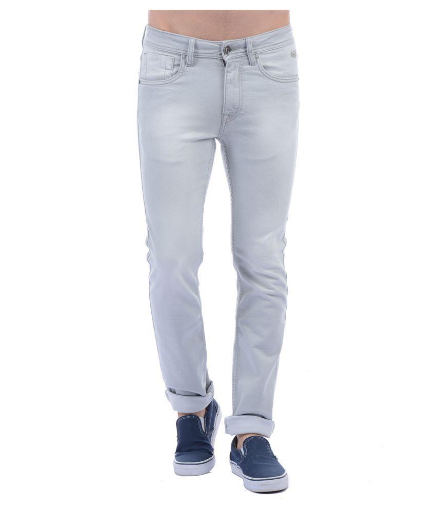 Flying Machine Grey Slim Jeans