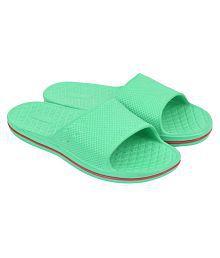 JPS Traders Slip On Slippers For Men/Boys Green Daily Slippers