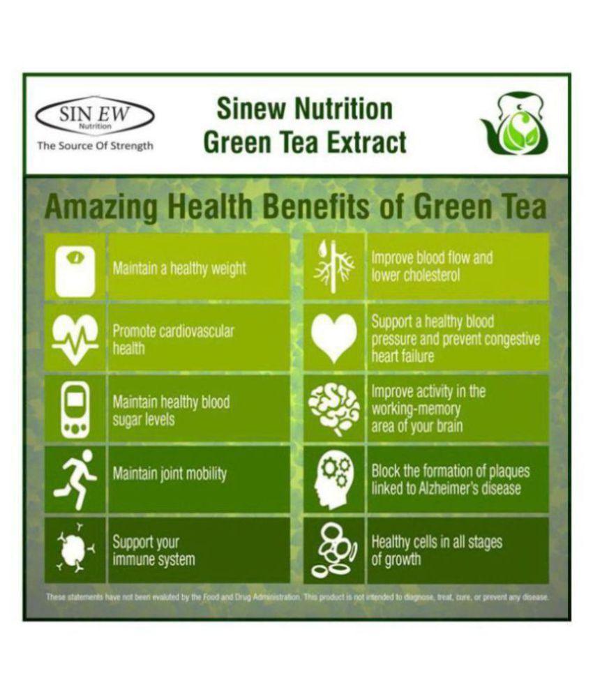 Sinew Nutrition Natural Fat Burner 5X (Green Tea, L-Carnitine, CLA, Green  Coffee & Garcinia Cambogia Extract) - 1200 mg (60 Count) 1200 mg Fat Burner