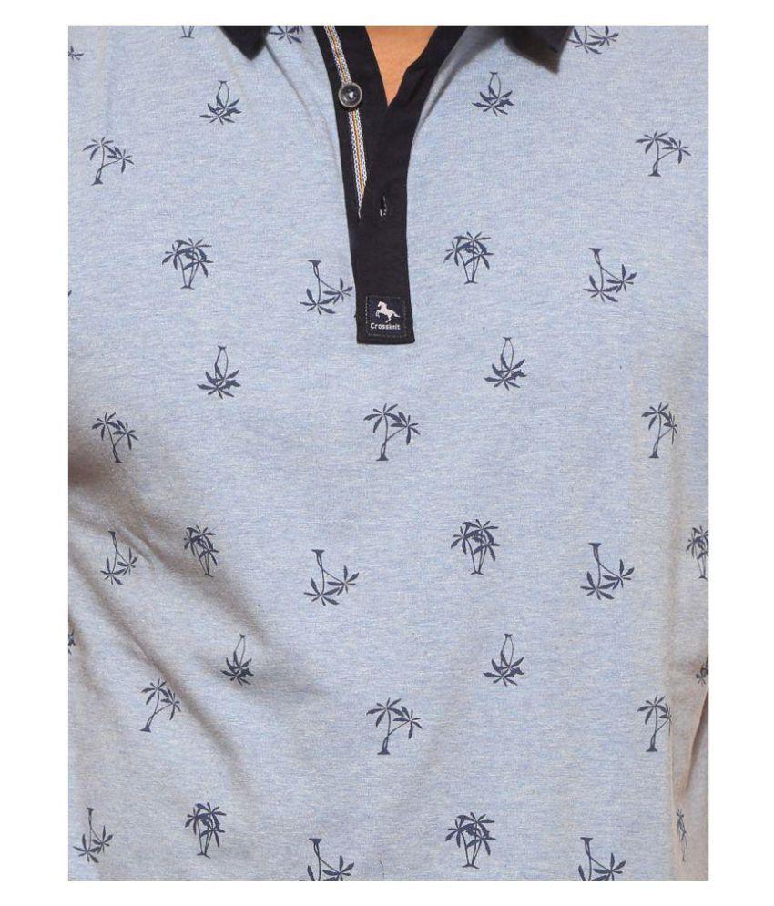 CROSSKNIT Black Round T-Shirt
