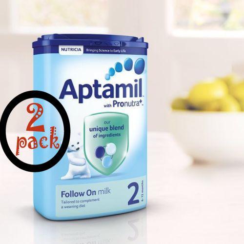aptamil aptamil 2 follow on milk powder 900g follow up formula for 6 months