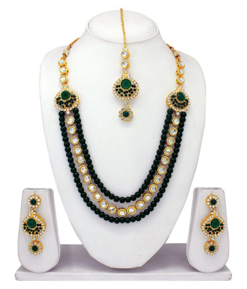 Atasi International Diamond Look Jewellery Set