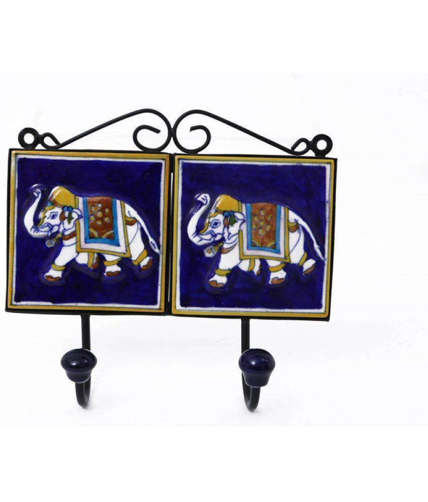 Creative Crafts Blue Ceramic - Pack of 1