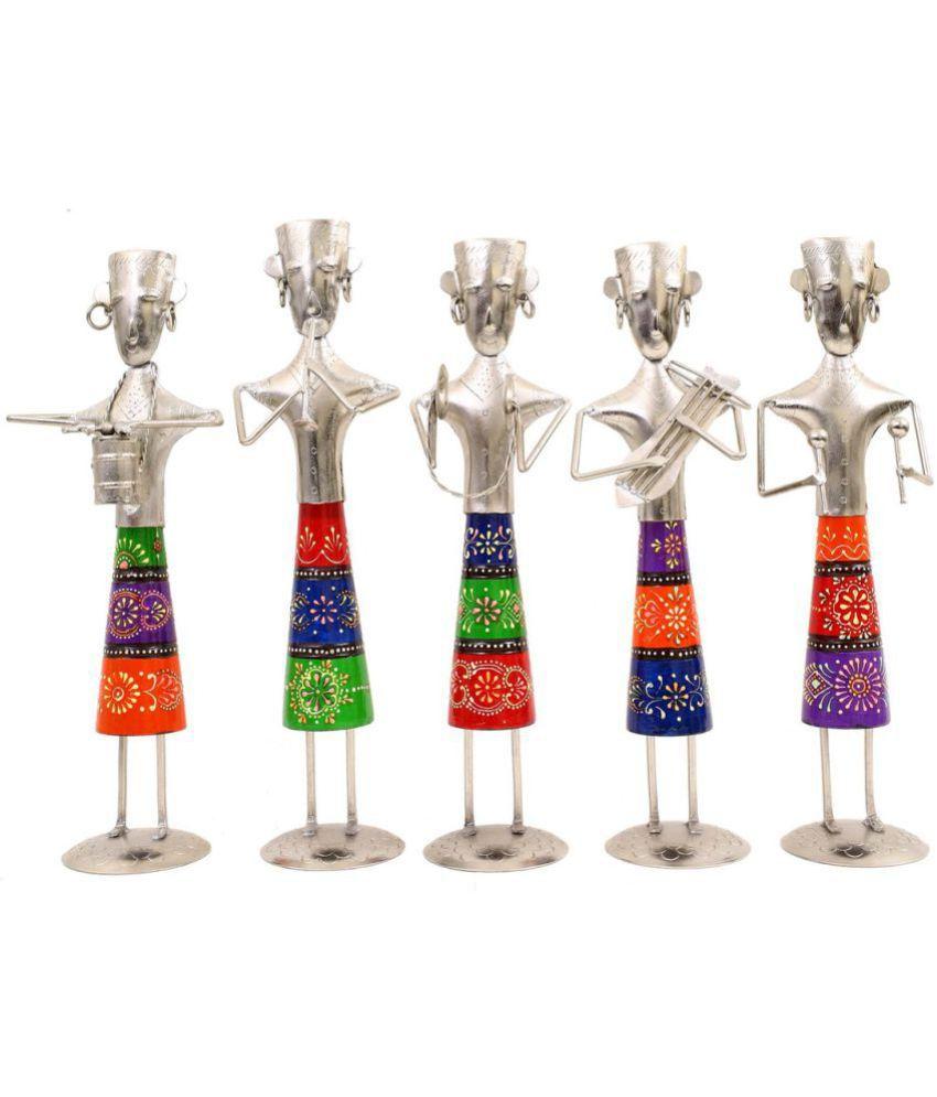 Creative Crafts Multicolour Iron Figurines 33 - Pack of 5