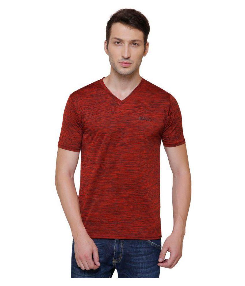 Pali Red V-Neck T-Shirt