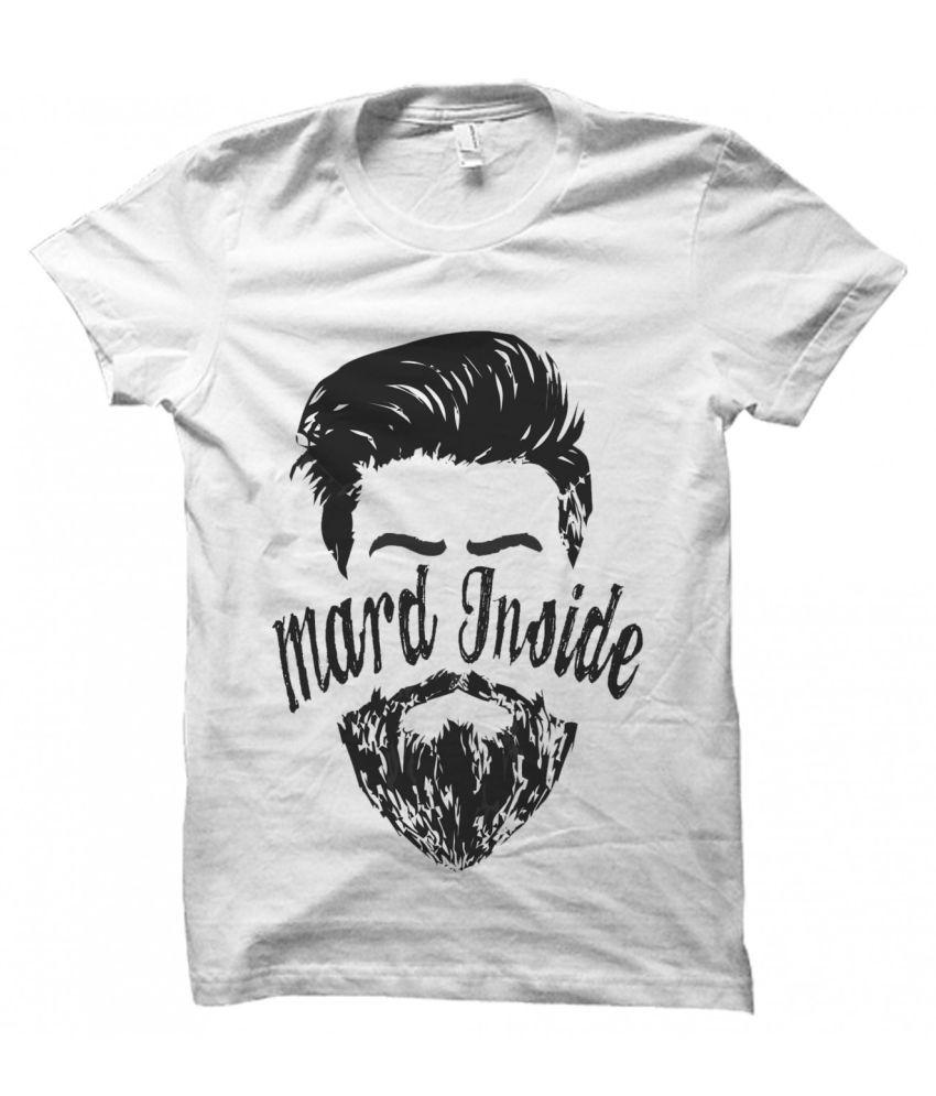 Printing Geeks White Round T-Shirt