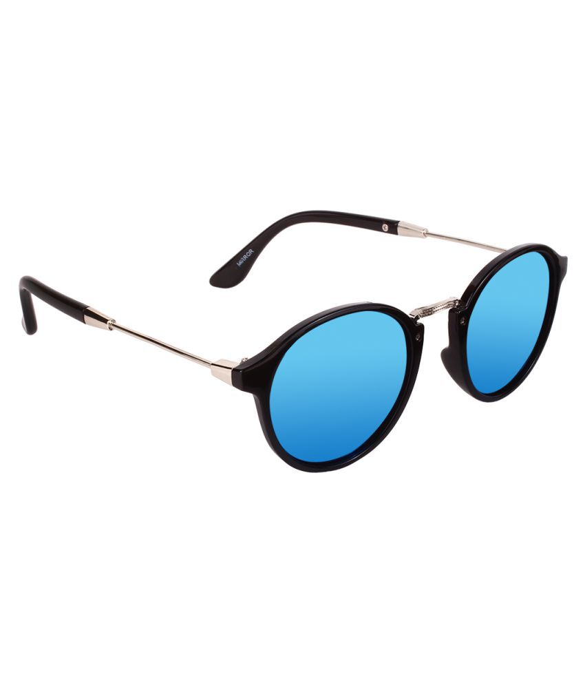 Olvin Blue Oval Sunglasses ( OL18617-01 )