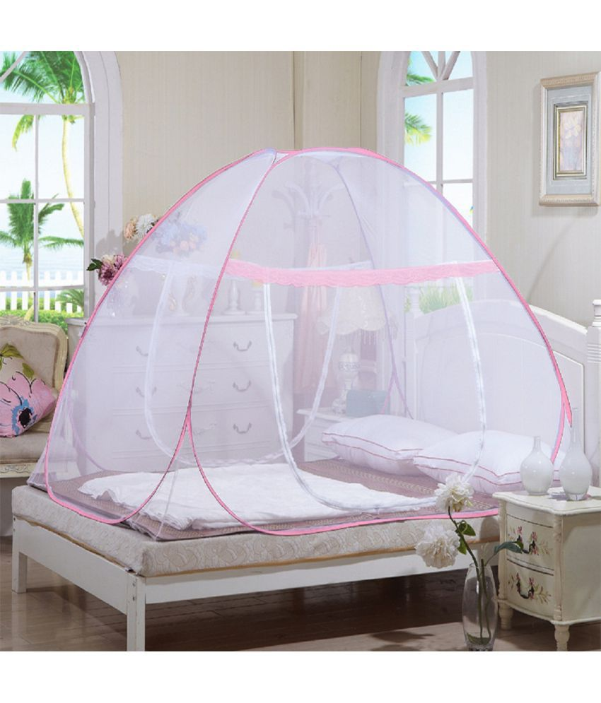 Dreamial Double White Plain Mosquito Net ... & Dreamial Double White Plain Mosquito Net - Buy Dreamial Double ...