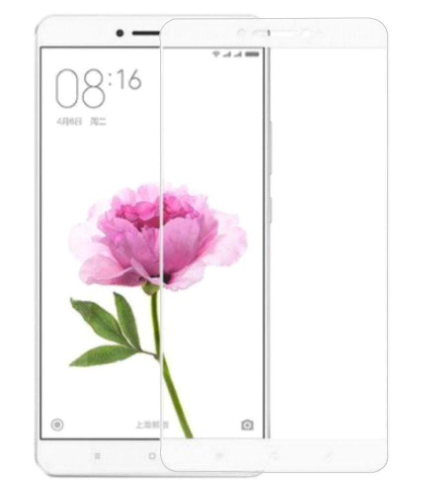 Xiaomi Mi Max Tempered Glass Screen Guard By Robux 4D