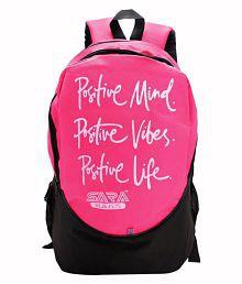 Sara Pink school bag