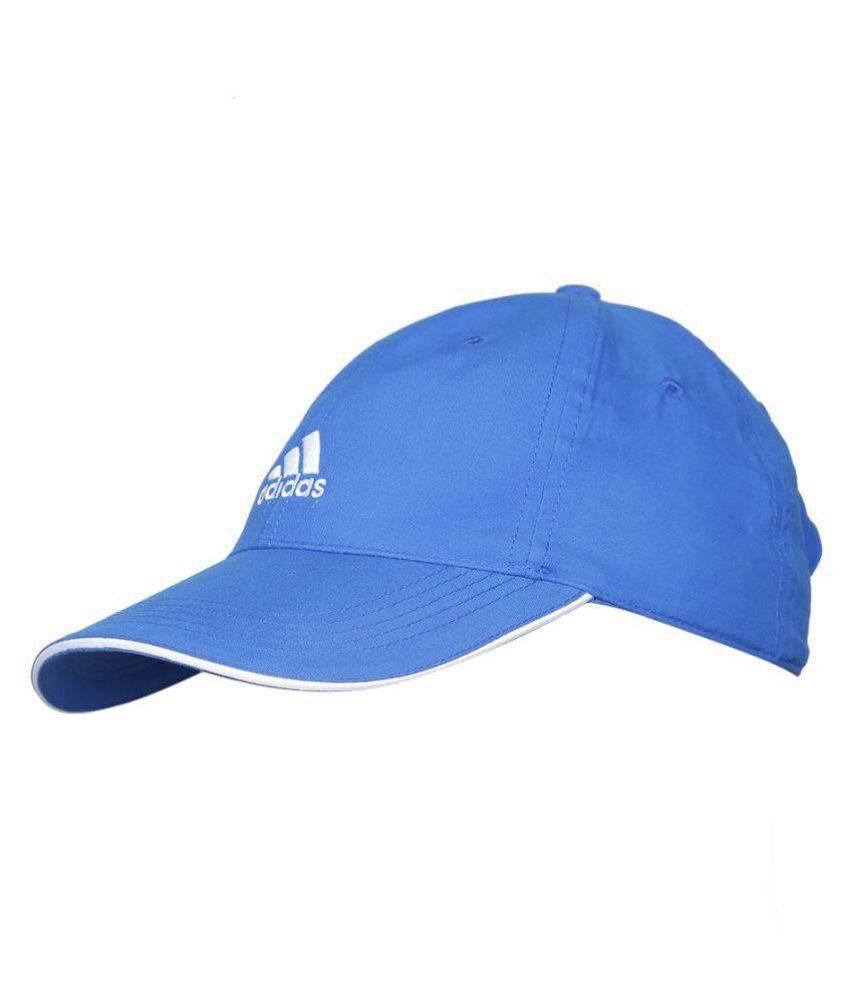 49745d11cb7 Adidas Blue Plain Polyester Caps - Buy Online   Rs.
