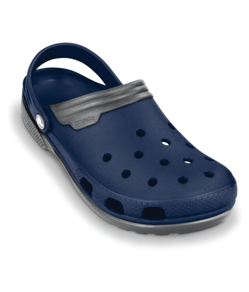 7b44d0749b7df8 Crocs 11001-46U Blue Floater Sandals - Buy Crocs 11001-46U Blue Floater  Sandals Online at Best Prices in India on Snapdeal