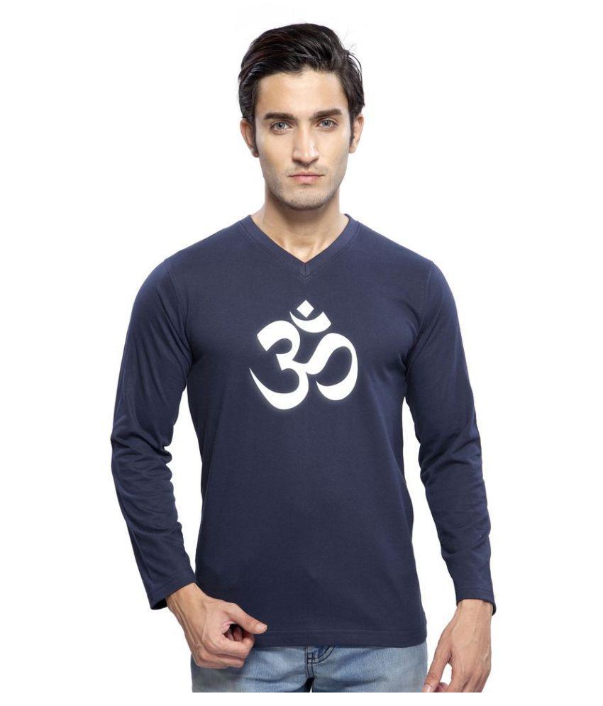 clifton Navy Round T-Shirt