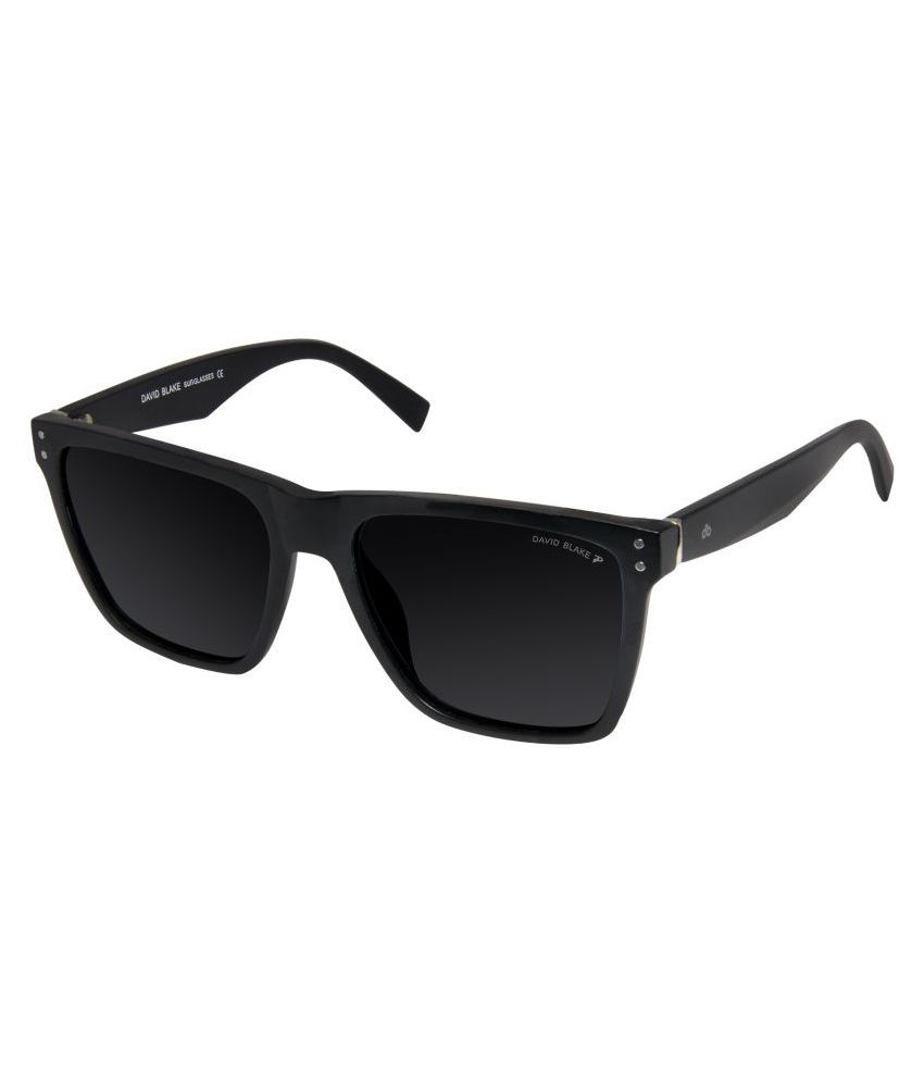 a6ec3bf807 David Blake Black Wayfarer Sunglasses ( P821 ) - Buy David Blake Black Wayfarer  Sunglasses ( P821 ) Online at Low Price - Snapdeal