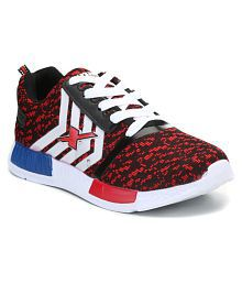 Sparx Red Running Shoes
