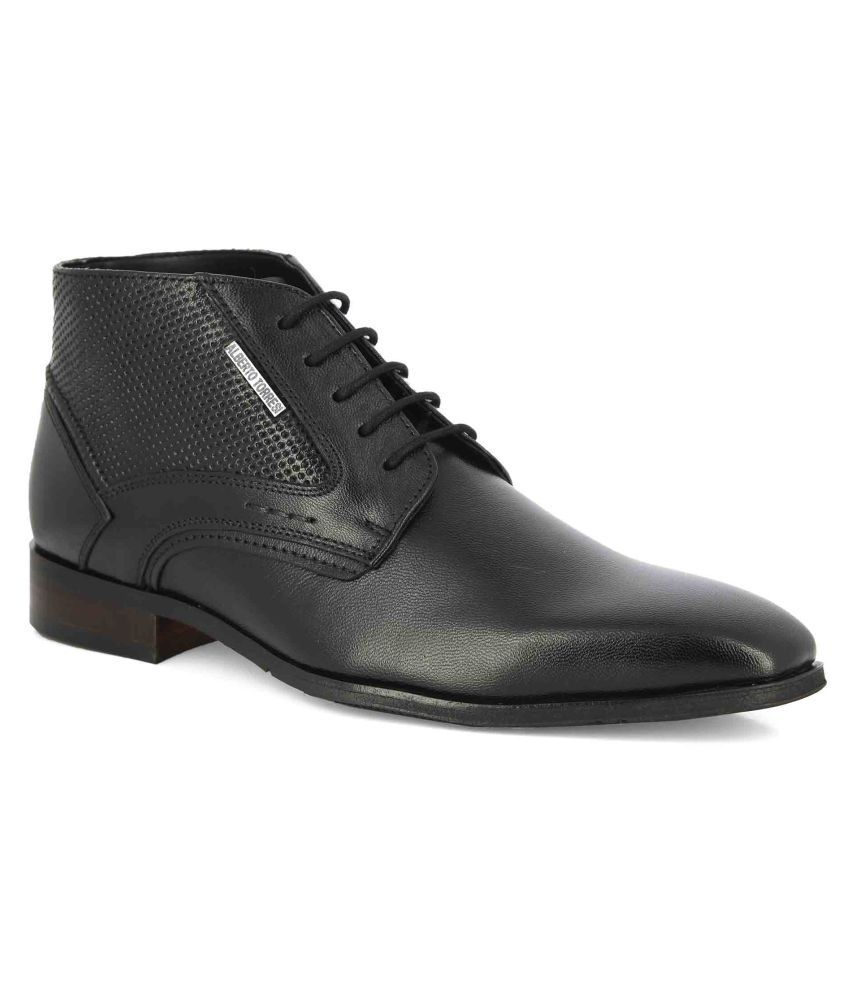 Alberto Torresi Black Casual Boot
