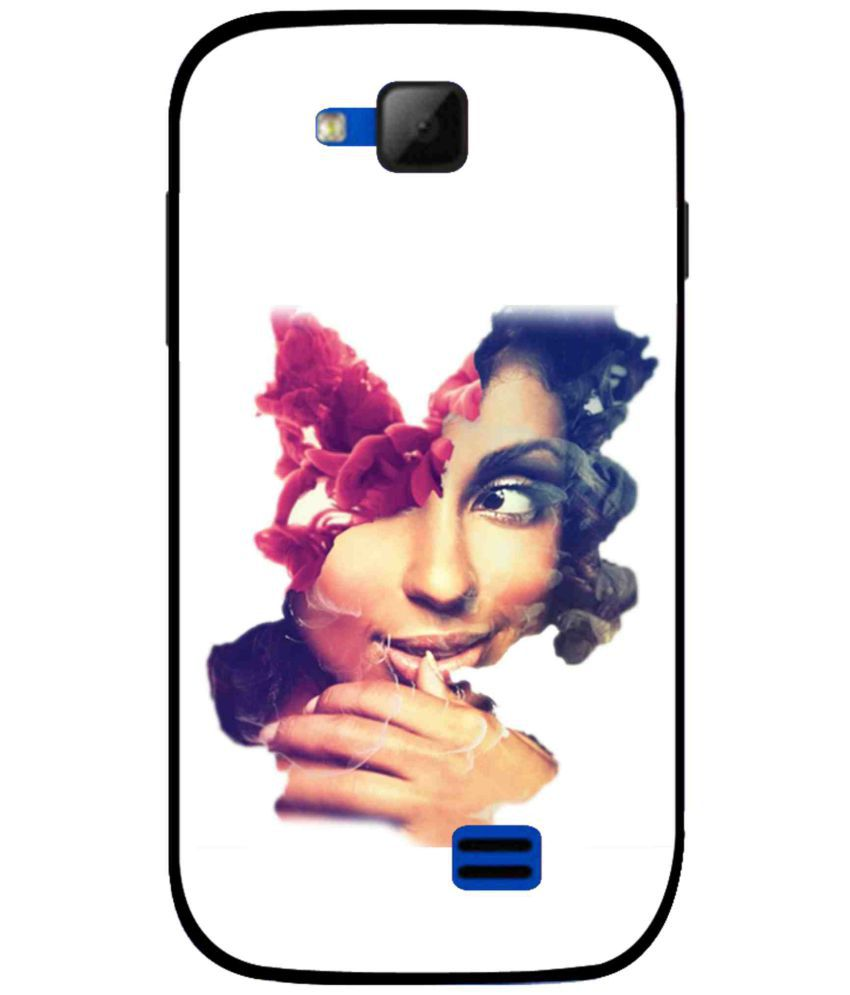 Micromax Canvas Fun A63 Printed Cover By Snooky