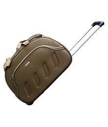Pride Brown Solid Duffle Bag