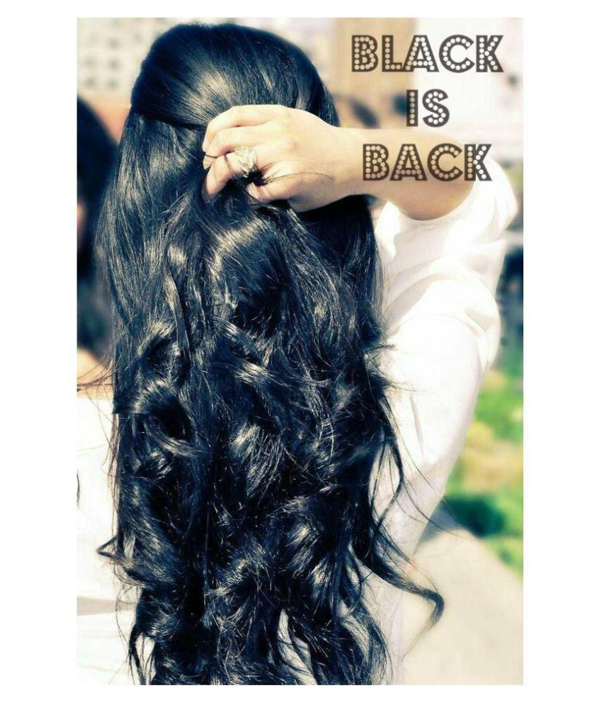 Shagun Gold Henna Natural Black Hair Color Semi Permanent Hair Color