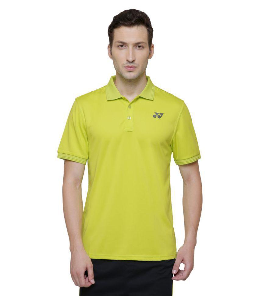Yonex Multi Polyester Polo T-Shirt