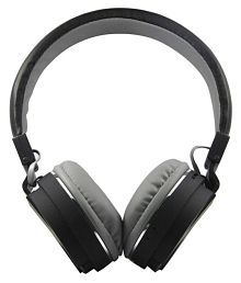 Jaiden SH12 With FM,SD Card Slot &Call Function Over Ear Wireless Headphones With Mic