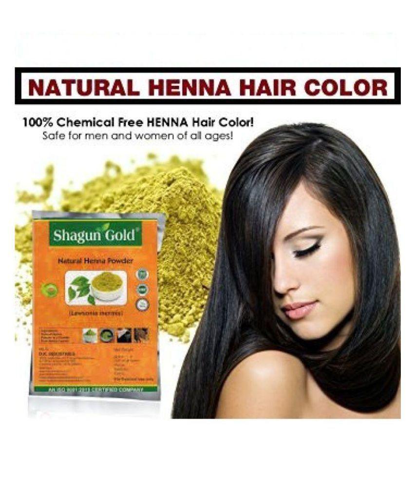 Shagun Gold Henna For Hair Color Semi Permanent Hair Color Henna