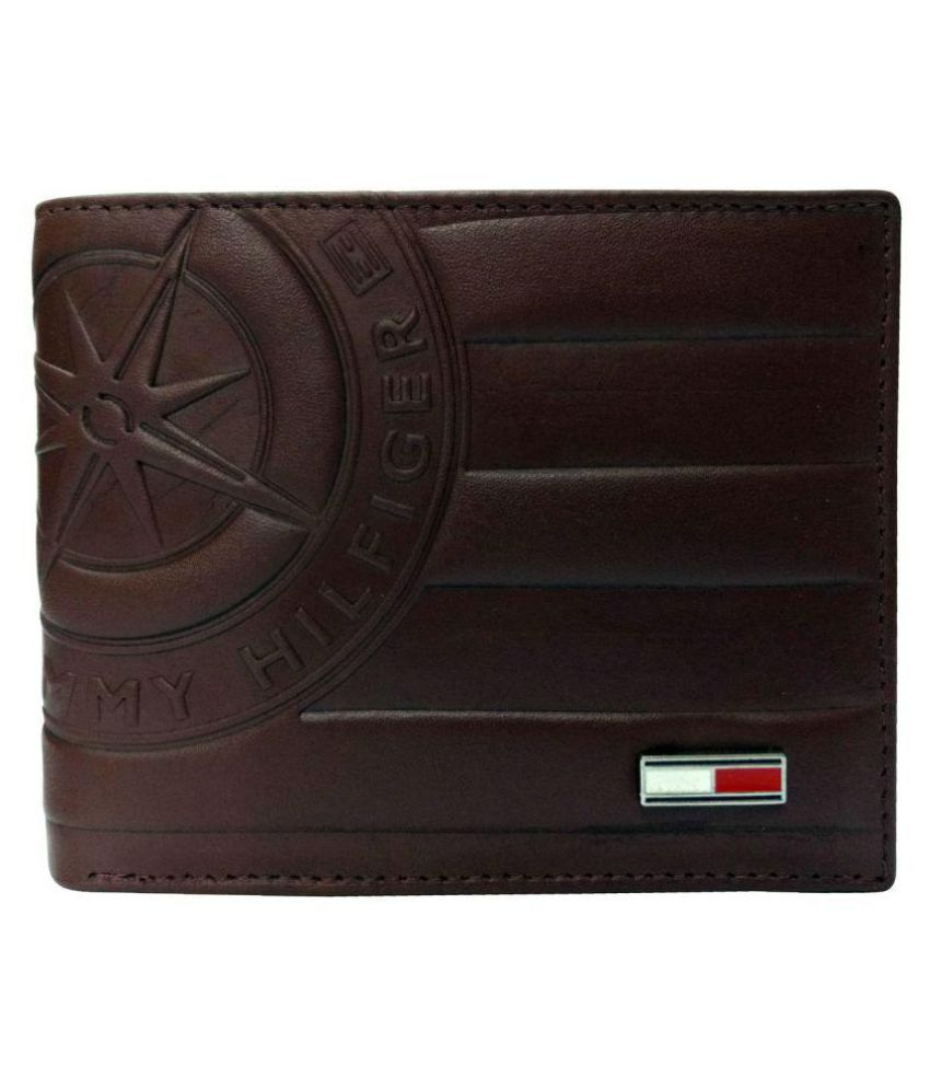 2a4d5f096 Tommy Hilfiger Leather Brown Casual Short Wallet available at SnapDeal for  Rs.1295