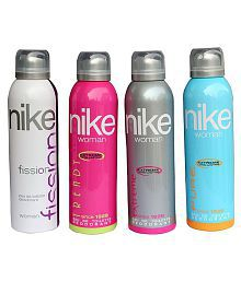 Nike Women Set of 4 (Fission, Trendy, Extreme, Pure)