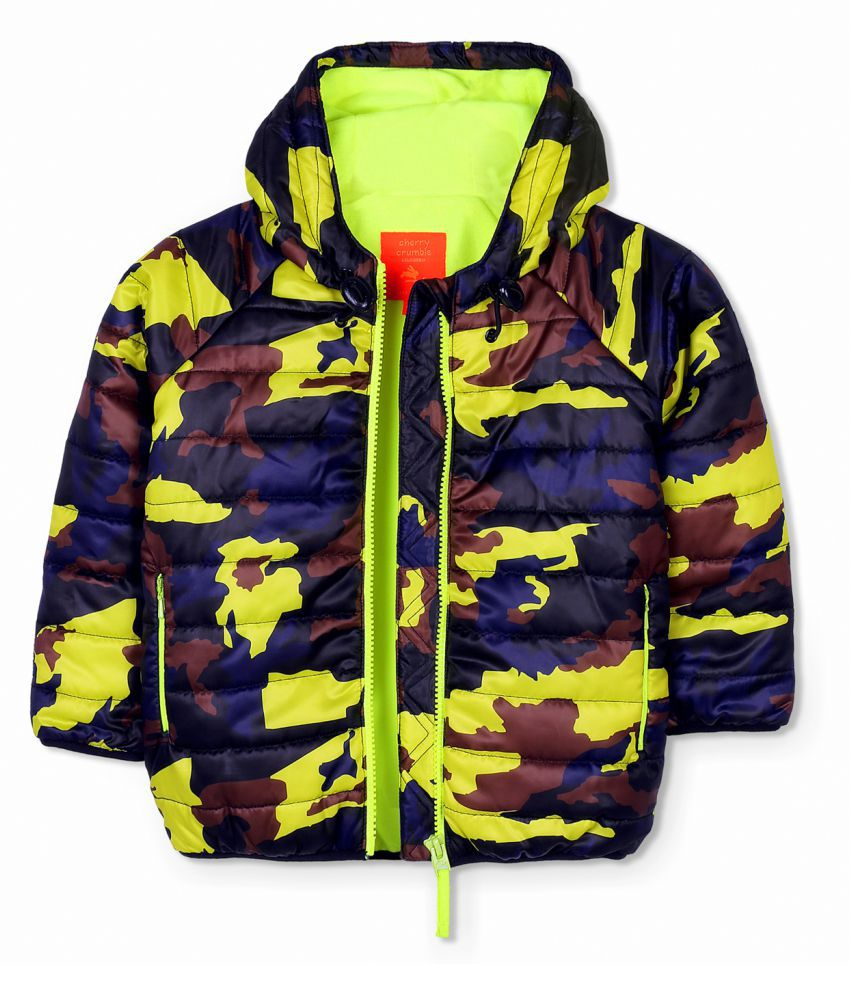 Cherry Crumble Camper Camo Jacket