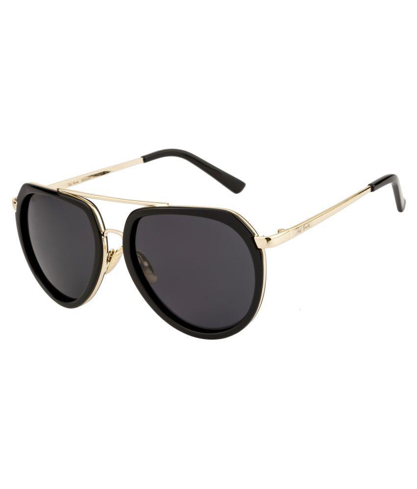Ted Smith Grey Aviator Sunglasses ( TS-B18136 )
