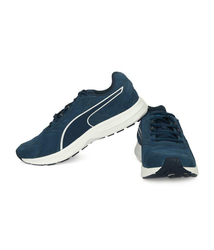 new product 87e80 d55ef Puma Descendant v3 Suede Running Shoes Puma Descendant v3 Suede Running  Shoes ...