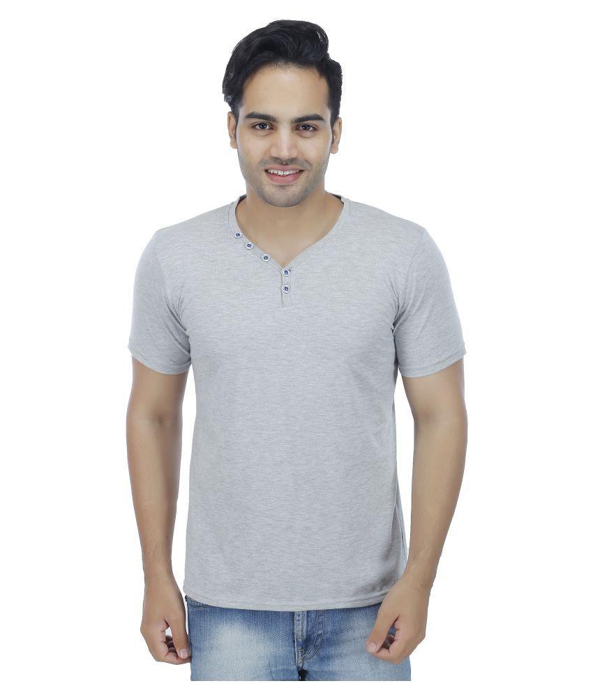 Darwin Grey V-Neck T-Shirt