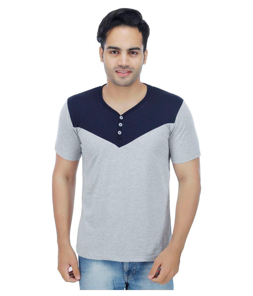 Darwin Grey Henley T-Shirt