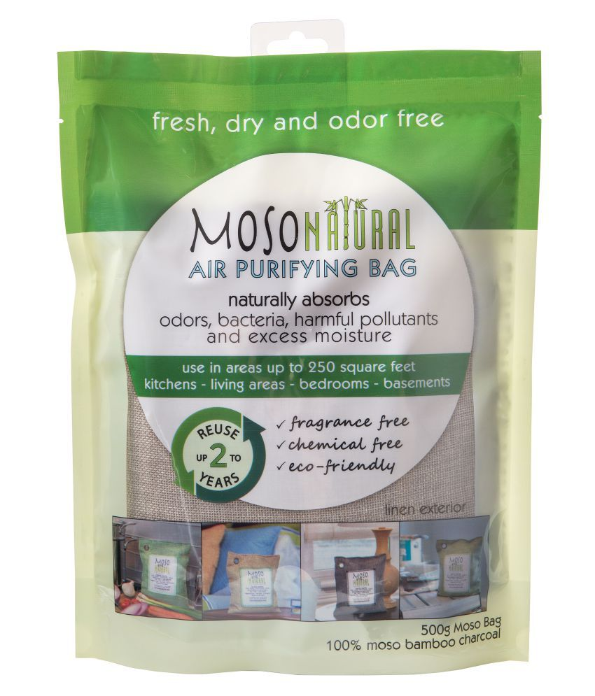 Moso Natural Air Purifying Bag 500g Removes odour &  Pollutants Air Purifier