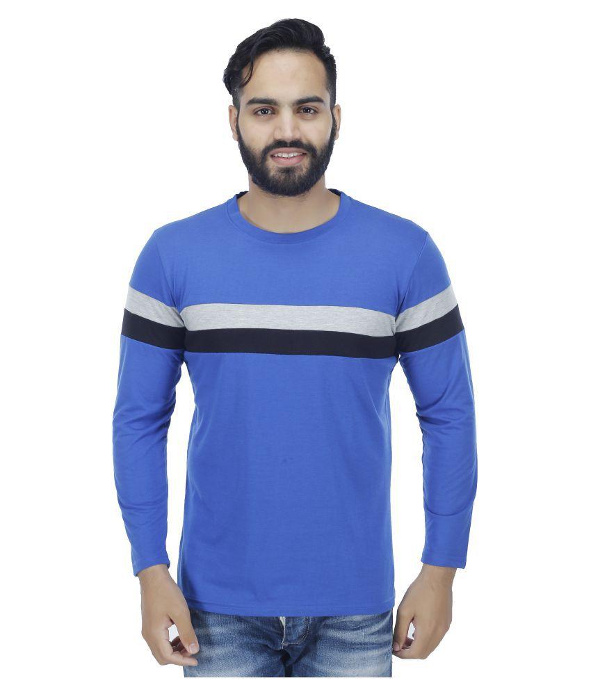Fashion Beats Blue Round T-Shirt