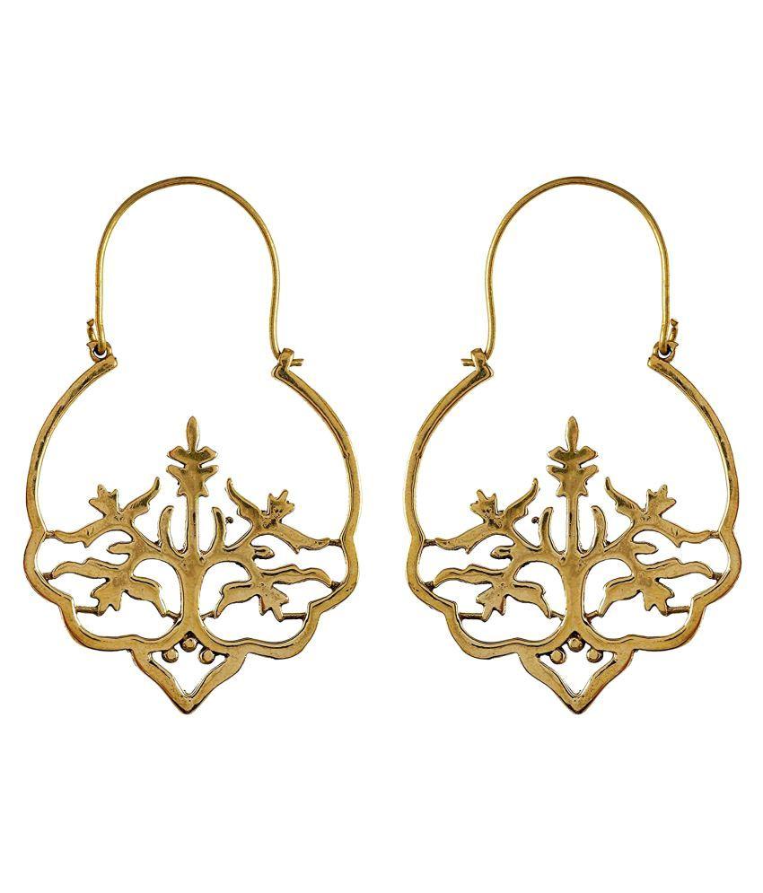 Jamnasha Handmade Gold Plated Earring