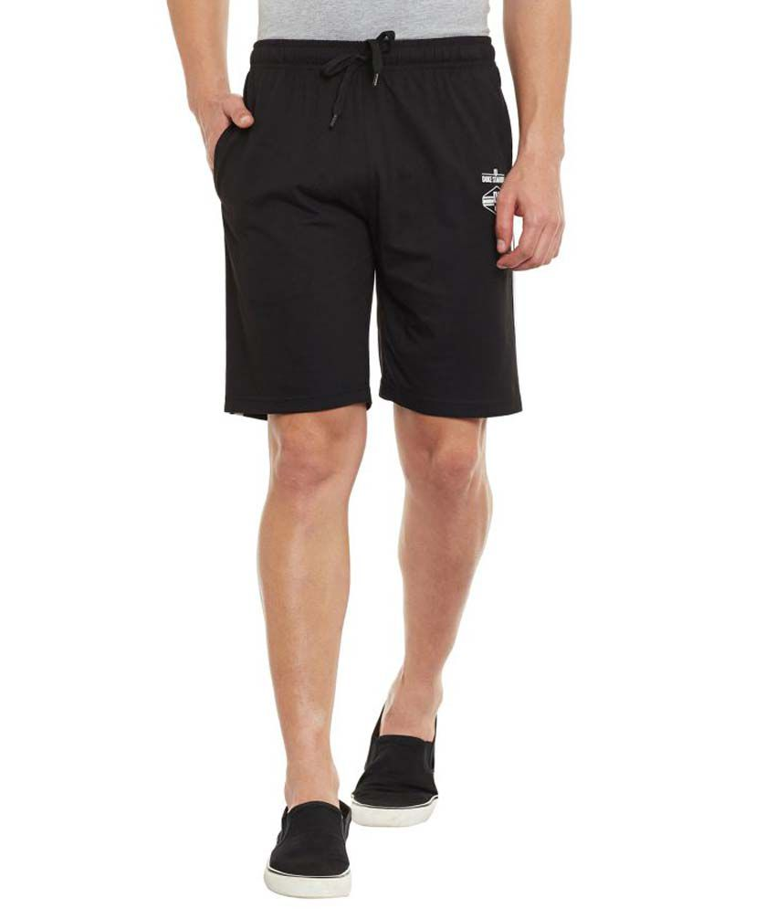 Duke Black Shorts