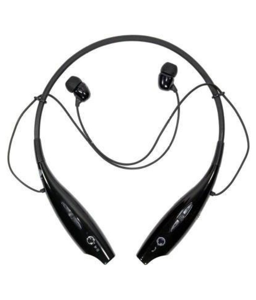 Shopkeeda A10 Wireless Bluetooth Headphone Black