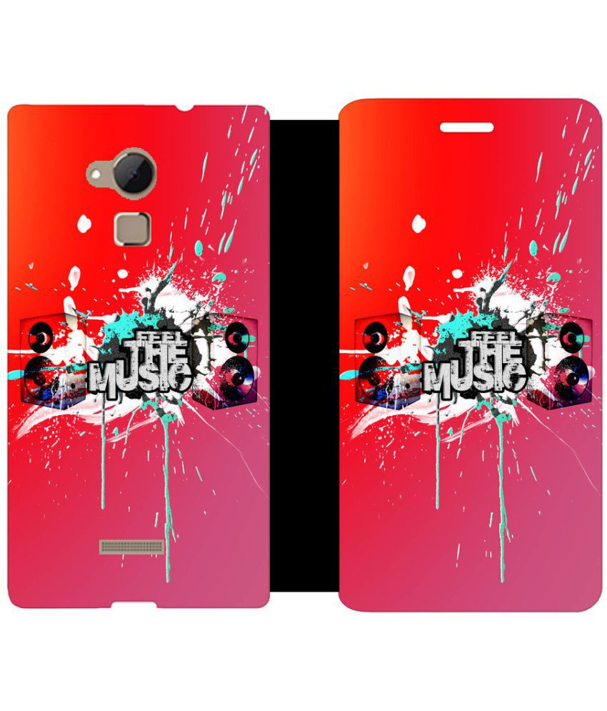Coolpad Note 3 Flip Cover by Skintice - Multi