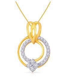 Malabar Gold And Diamonds 18k Yellow Gold Pendant