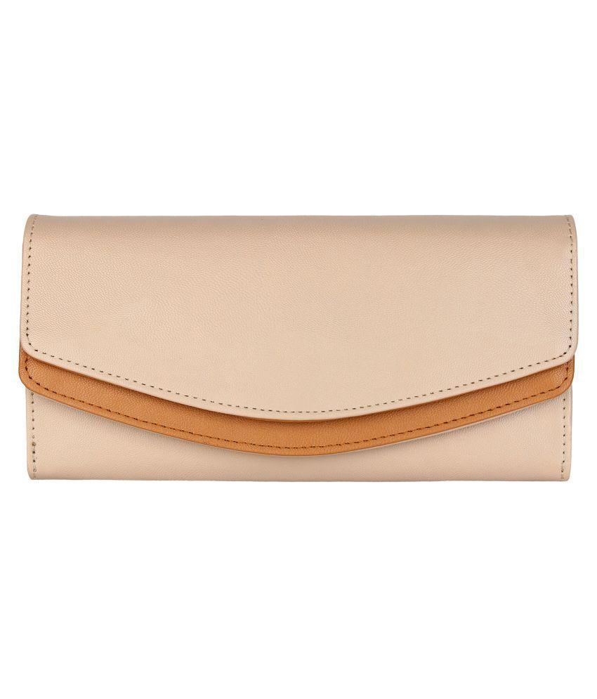 Lychee Bags Beige Wallet