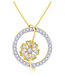 Malabar Gold And Diamonds 18k Yellow Gold Pendant - 624874397630