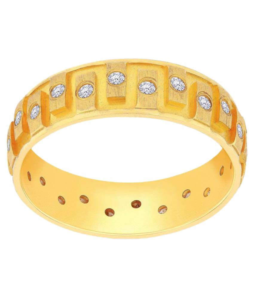 Malabar Gold And Diamonds 22k Yellow Gold Ring
