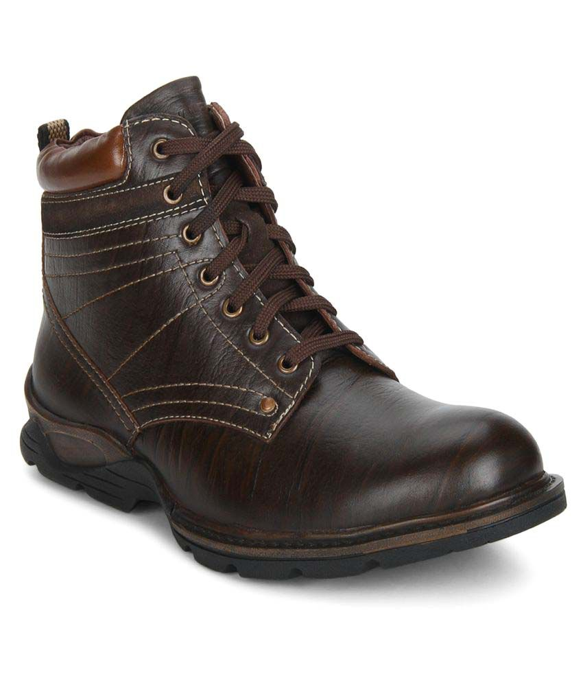 Valentino Brown Casual Boot