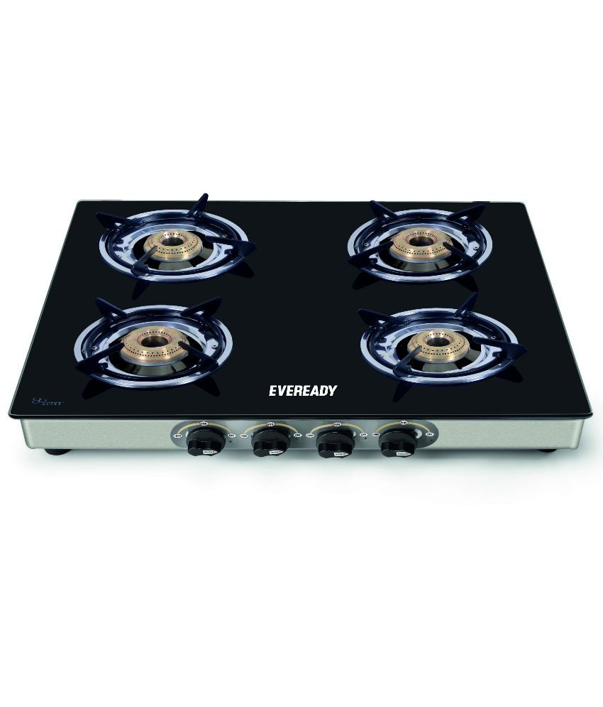 Eveready TGC 4B 4 Burner Manual Gas Stove