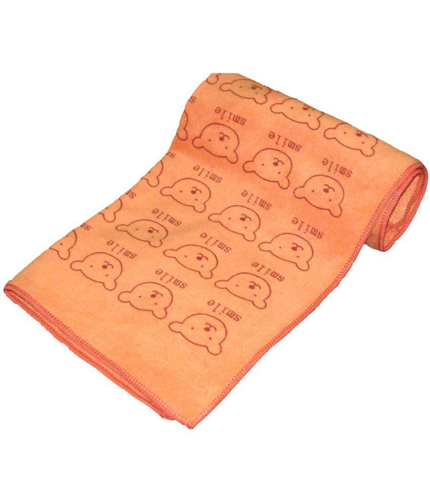 Profto Orange Microfibre Bath Towels Set Of 1 Baby Bath Towel