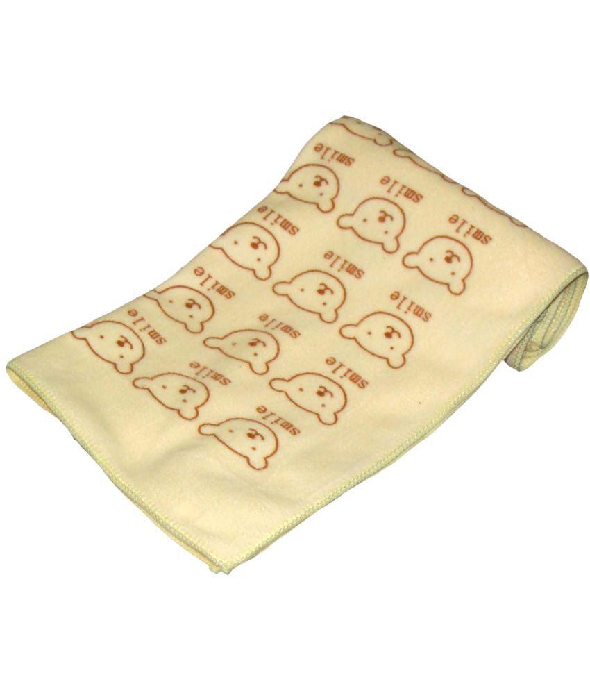 Profto Yellow Microfibre Bath Towels Set of 1 Baby Bath Towel