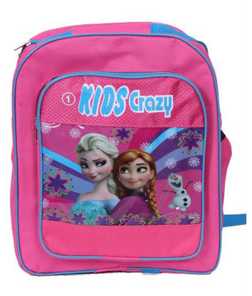 Other Manufacturer Rainbow Frozen Kids Pink School Bag - Buy Other  Manufacturer Rainbow Frozen Kids Pink School Bag Online at Low Price -  Snapdeal