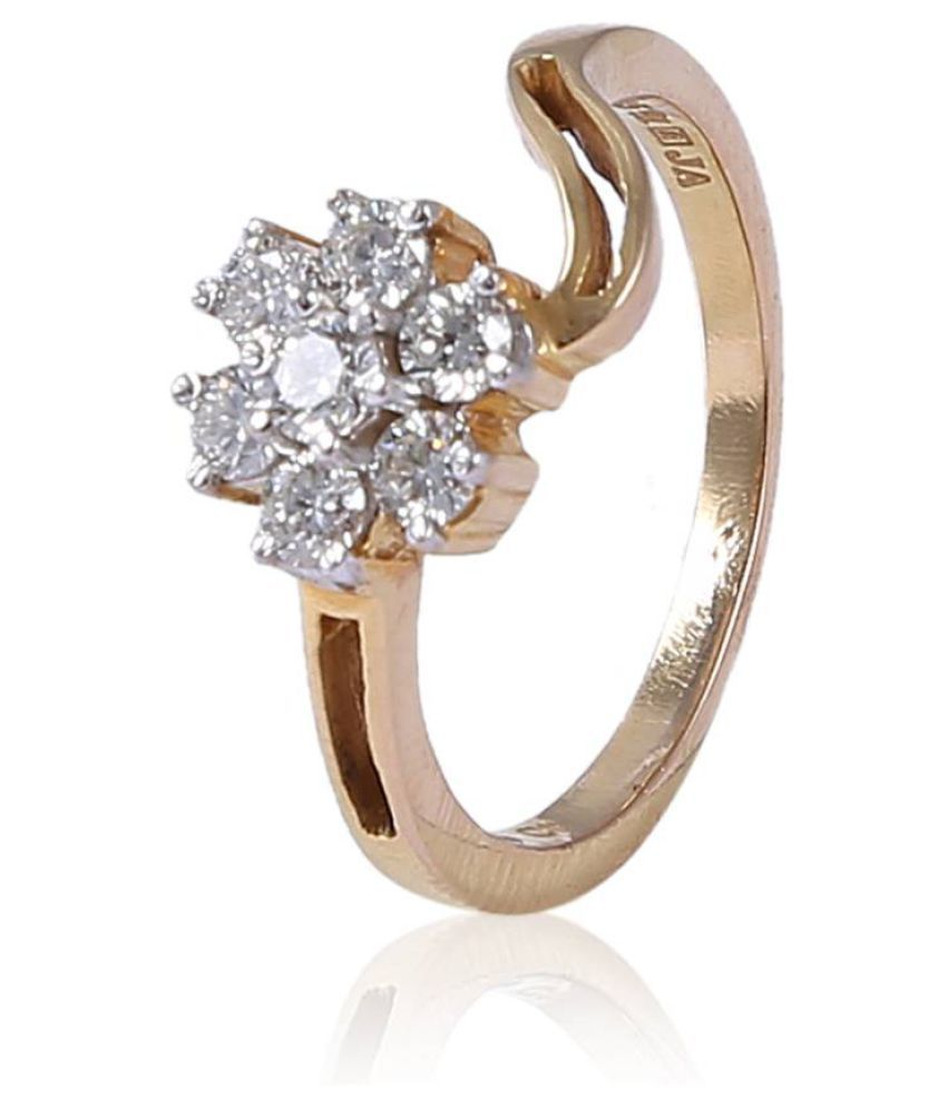 New Kataria Jewellers 18k Gold Ring