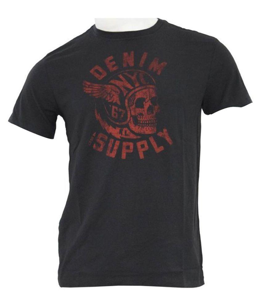 Under Armour Black Cotton T Shirt